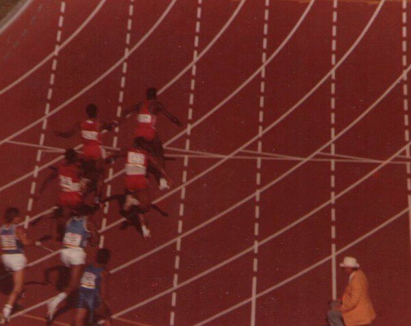Carl Lewis 4 X 100 Metre Finals